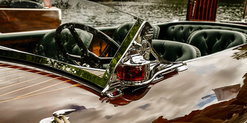"""""""The Caddy"""" - Classic wood boats, Baysville, Ontario"""