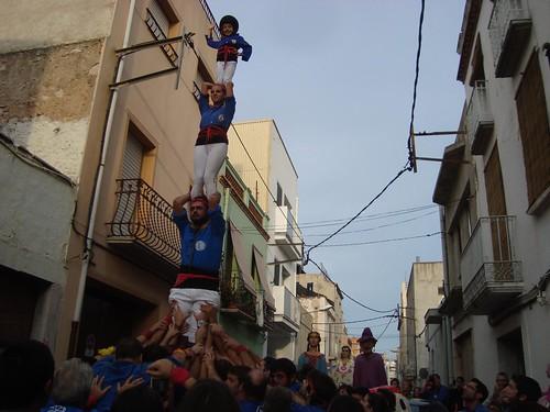 Castellers d'Esplugues a Alcanar