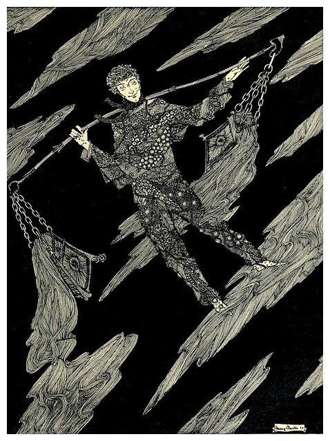 009- La charla de las estrellas-The year's at the spring…1920- ilustrador Harry Clarke