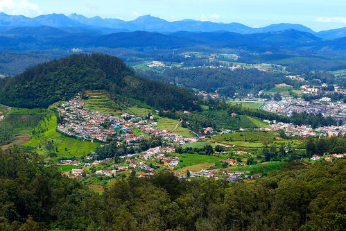 panorama ooty nilgiris morningview