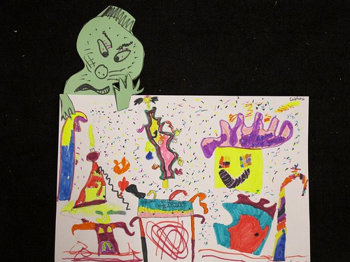 Grinch & Who-ville Art Lesson