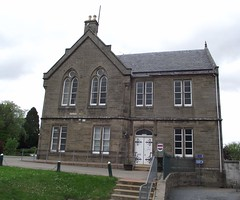 Grantown-on-Spey former police station 2014