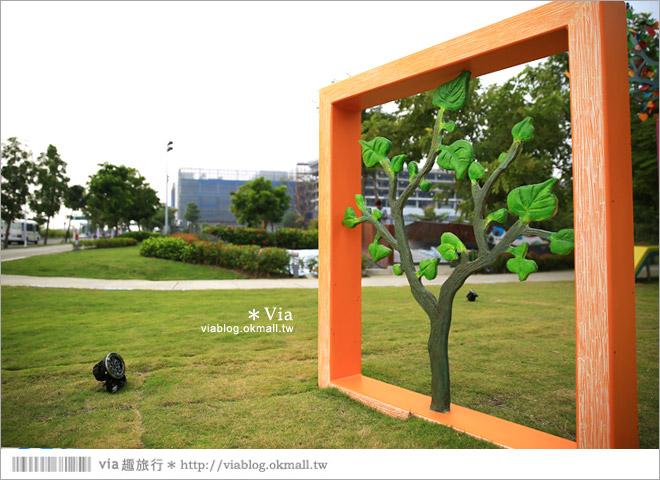 【南科幾米】台南|台積電南科幾米裝置藝術小公園~願望盛開‧許諾之地10