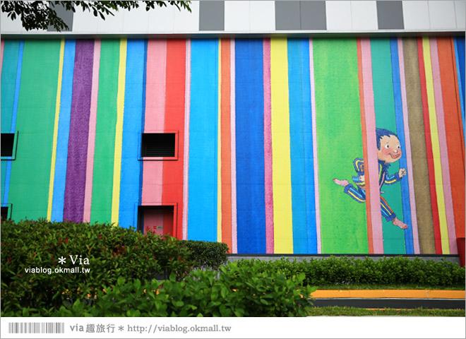 【南科幾米】台南|台積電南科幾米裝置藝術小公園~願望盛開‧許諾之地32