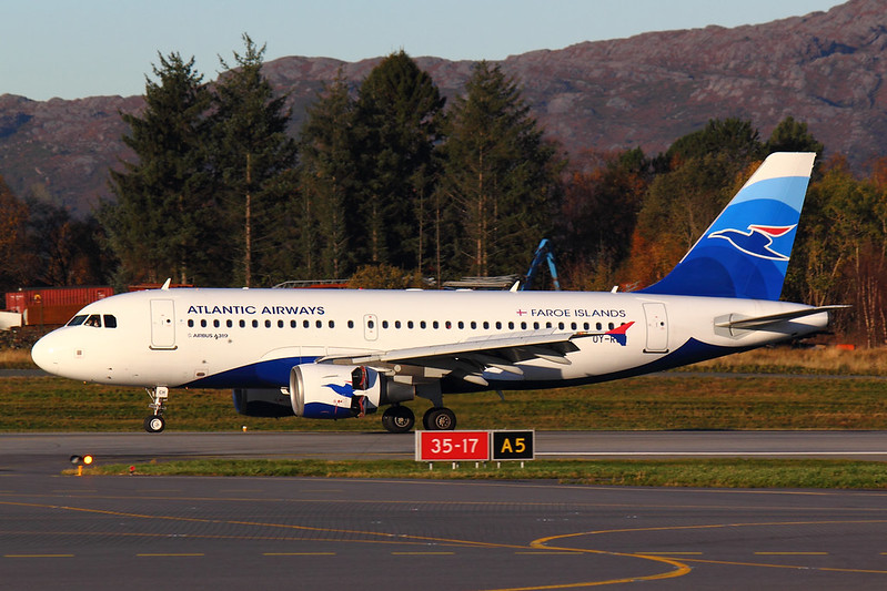 Atlantic Airways - A319 - OY-RCH (1)