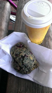 Blackberry Scone and Cinnamon Chai from Cinnamon Works