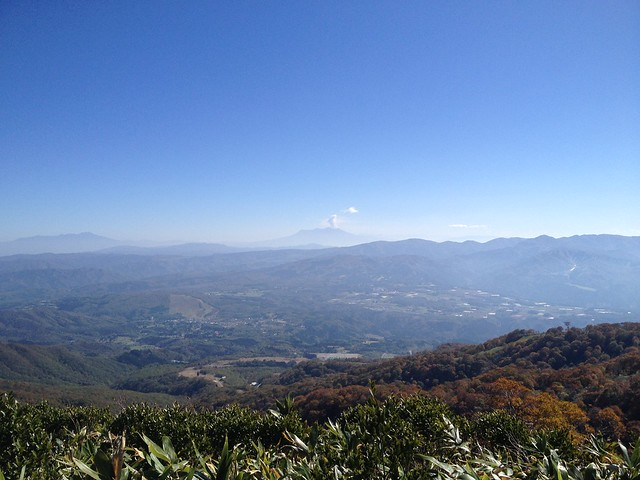 大日ヶ岳 ひるがの高原ルート 展望台からの眺望 御嶽山