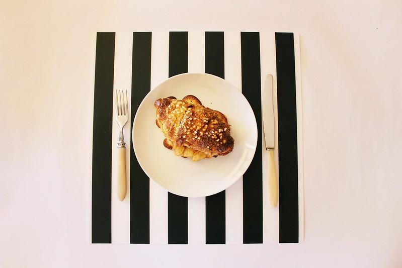 Baked Apple Stuffed Croissant
