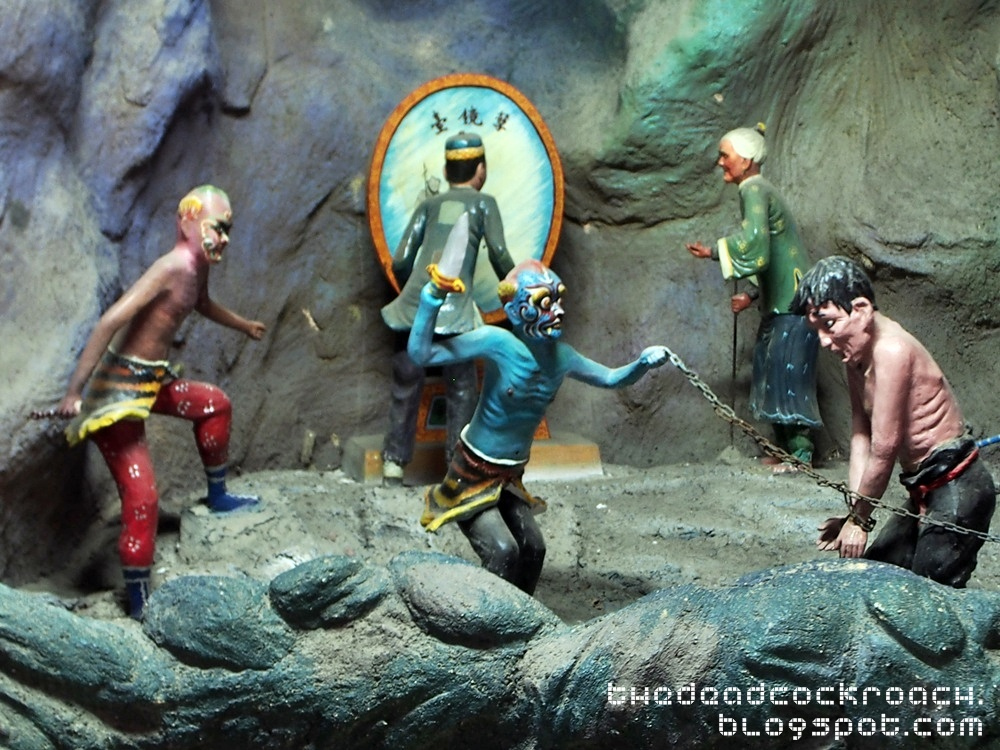 aw boon haw, aw boon par, chinese values, folklore, haw par villa, mythology, sculptures, statues, ten courts of hell, tiger balm, tiger balm garden, 虎豹别墅, singapore, where to go in singapore,repen,mirror of retribution