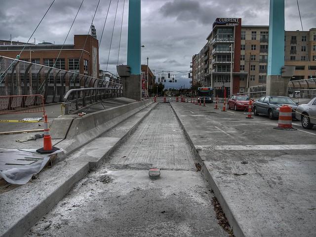 Cincinnati Streetcae construction