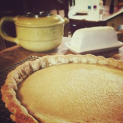 #buttermilk #chess #pie #cornmealcrust  #lovely #delicious #fourandtwentyblackbirds