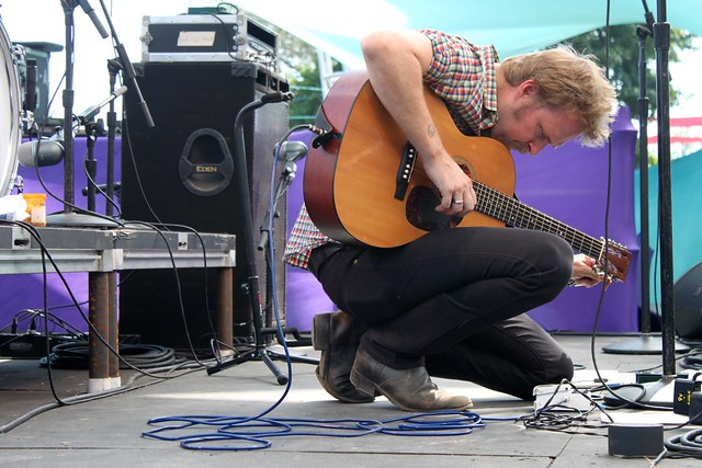 Pickathon 2014: Hiss Golden Messenger at the Fir Meadow Stage