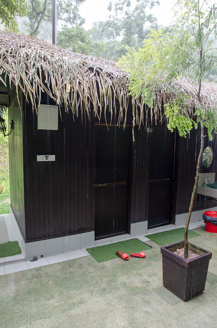 Shared bathroom and washroom at Tanah Aina Farrah Soraya