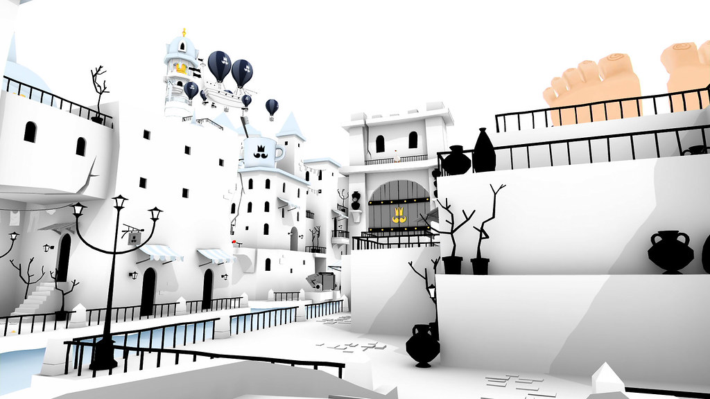 The Unfinished Swan PS4 & PS Vita