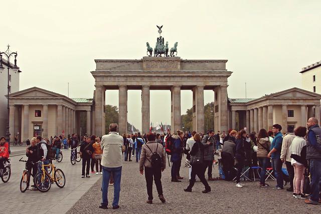 Brandenburgin portit, Berliini