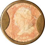 1862 Lord & Taylor. Three Cents. obverse
