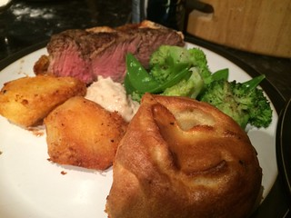 Rib of Beef : Serve with horseradish