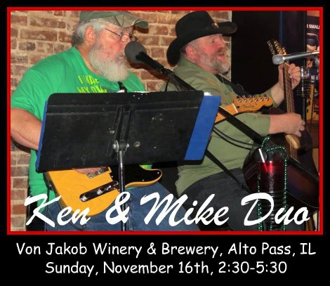 Ken & Mike Duo 11-16-14
