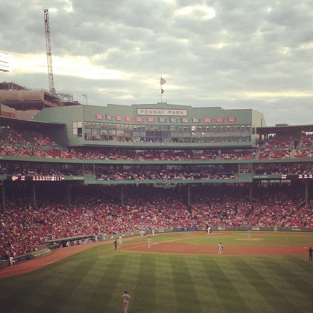 Fenway for the evening #Boston #redsox