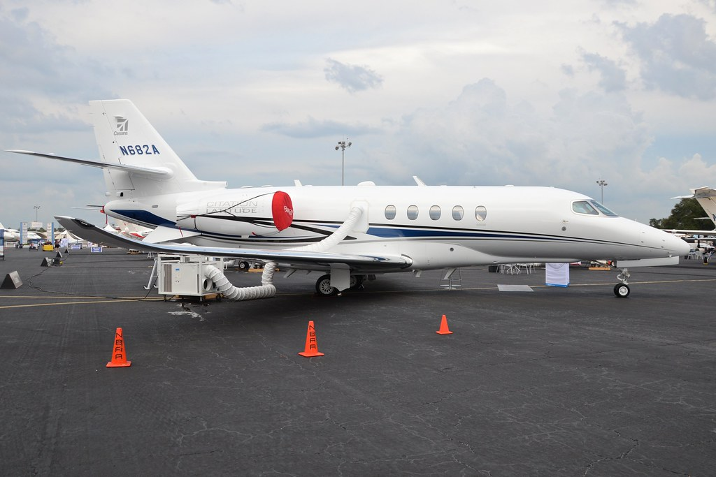 Cessna Citation Latitude N628A