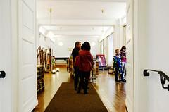 Kunstausstellung im Bürgersaal