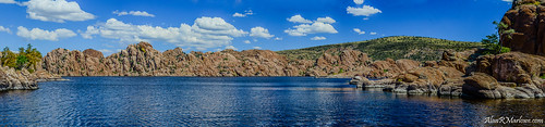 blue trees summer arizona panorama lake green art water clouds landscape photography nikon colorful wildlife fineart hill fine wideangle az bluesky canvas watson granite prints marlowe 1855mm nikkor polarized prescott dells watsonlake flowersplants granitedells glassfordhill d5100 alanmarlowe alanrmarlowe