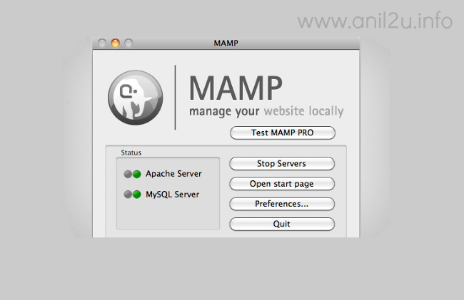 PHP installation procedure in Mac(MAMP) by Anil Kumar Panigrahi
