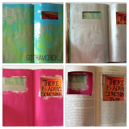 Work in Progress: my altered book