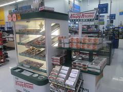Krispy Kreme at Walmart