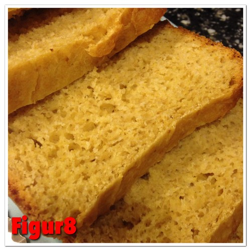 Wholemeal bread with flaxseed
