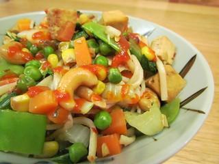 Sesame Udon Stir-Fry