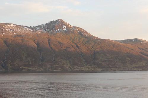 autumn mountain sunrise iceland westfjords djúpavík