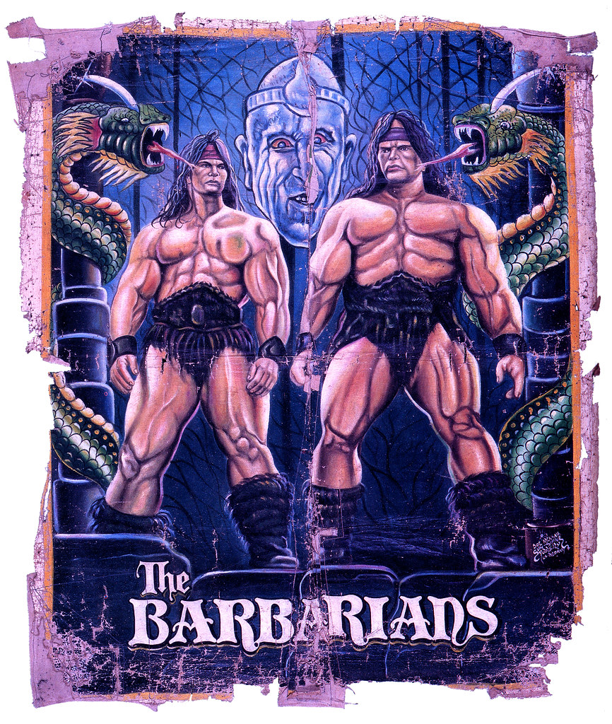 The Barbarians (version 2)