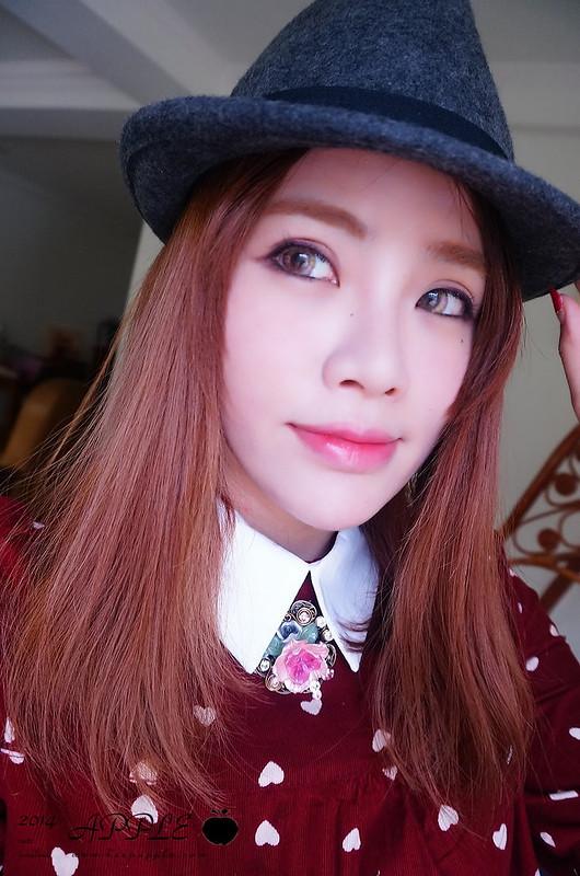 【妝】秋天也可以很繽紛。想要改變印象的時候可以嘗試的彩色眼線妝