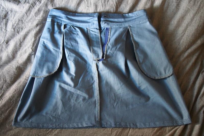 Burda Horses skirt