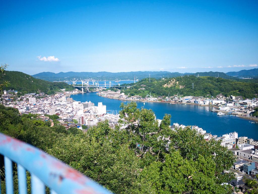 尾道城付近からの眺めは抜群