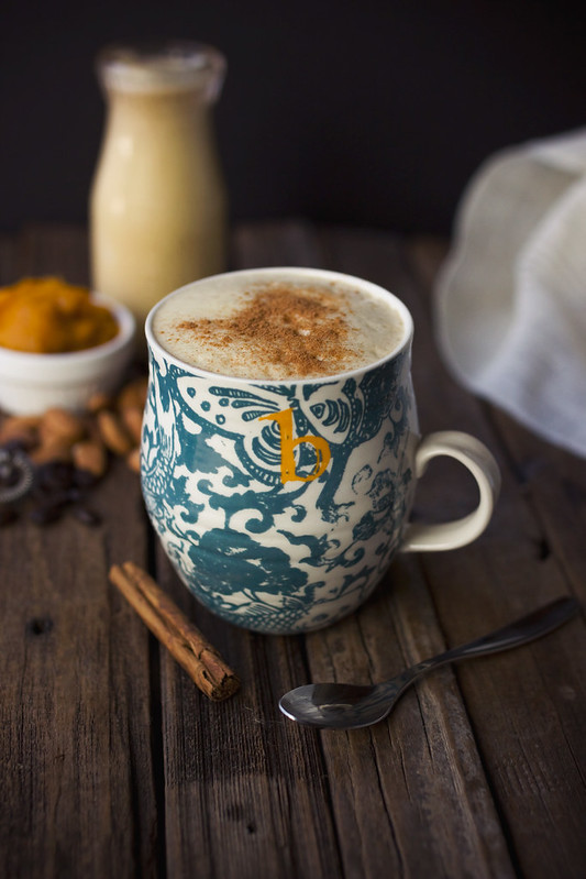 Pumpkin Spice Latte {Vegan}