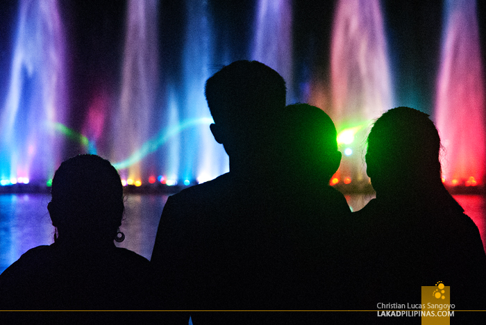 Musical Fountain at the Chiang Mai Night Safari