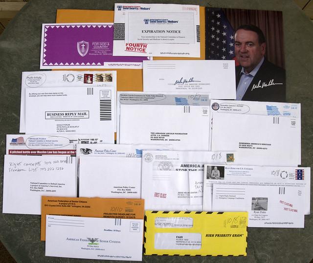 Random Political Junk Mail