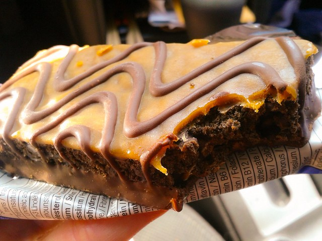 Caramel Nut Brownie // LUNA Bar