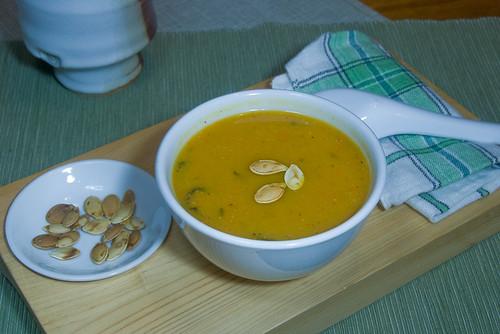 miso squash soup