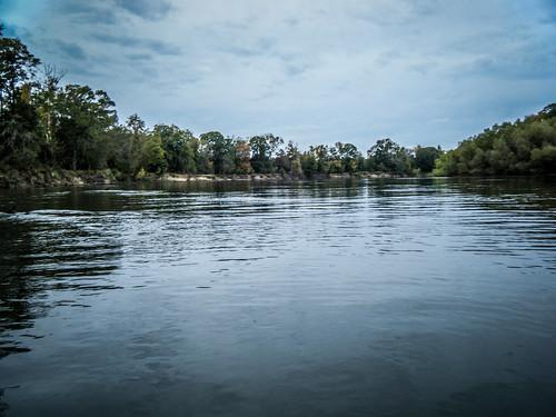 Savannah River from Stokes Bluff with LCU Nov 7, 2014, 4-18 PM Nov 8, 2014, 10-005
