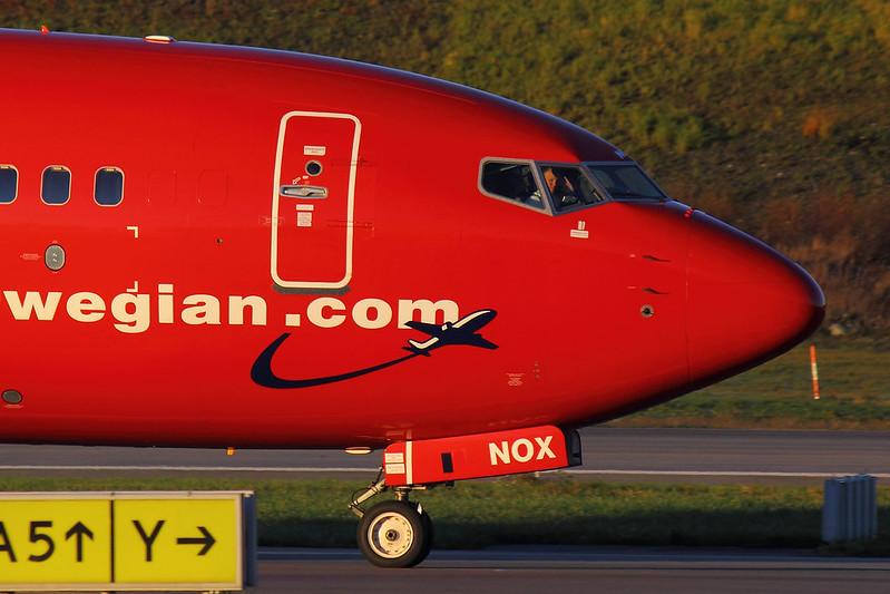 Norwegian - B738 - LN-NOX (1)