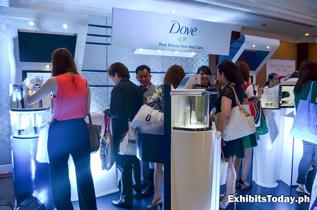 Dove Exhibit Booth