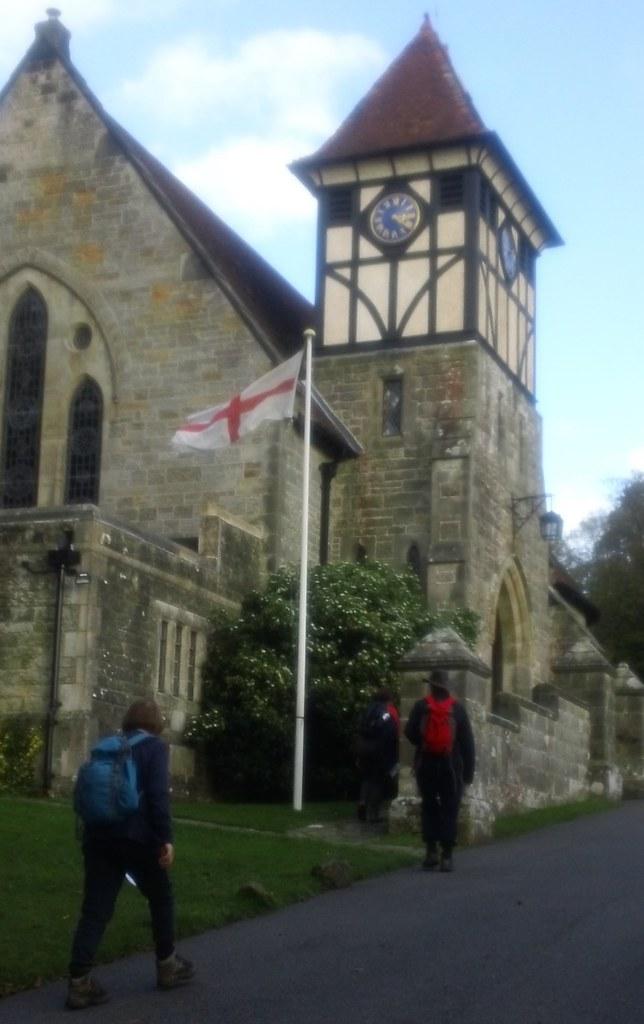 ''Holy Trinity!'' High Hurstwood Sussex