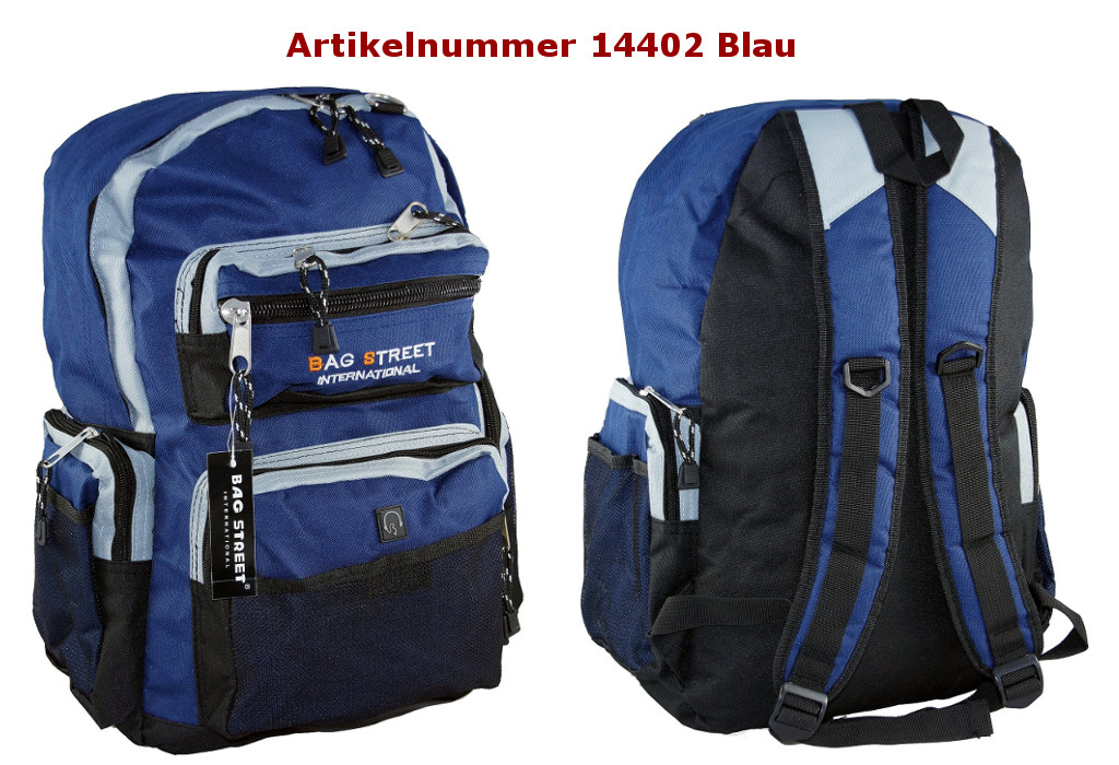 Rucksack 14402 Blau