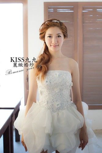 高雄KISS九九麗緻婚紗韓風婚紗攝影分享-造型