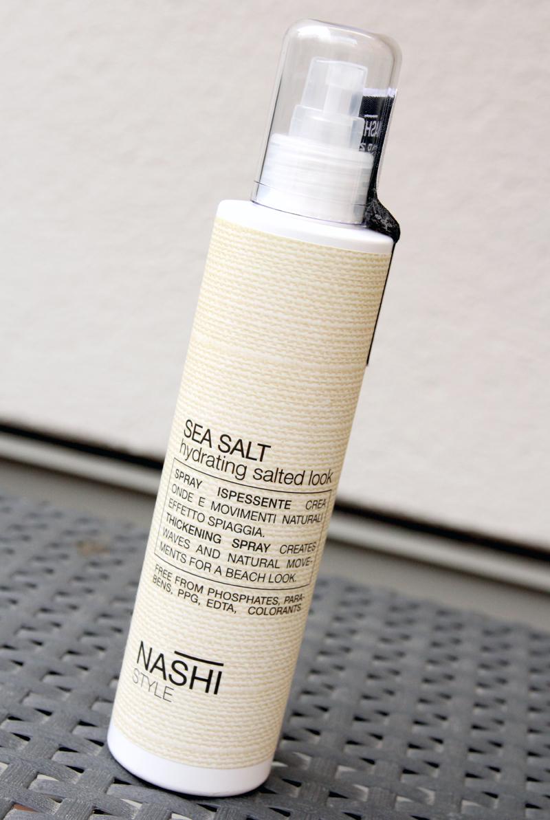 Nashi style sea salt