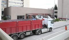 İbni Sina Hastanesinin atık bölümünde patlama