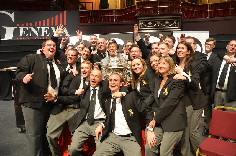 Glada segrare - Black Dyke Band